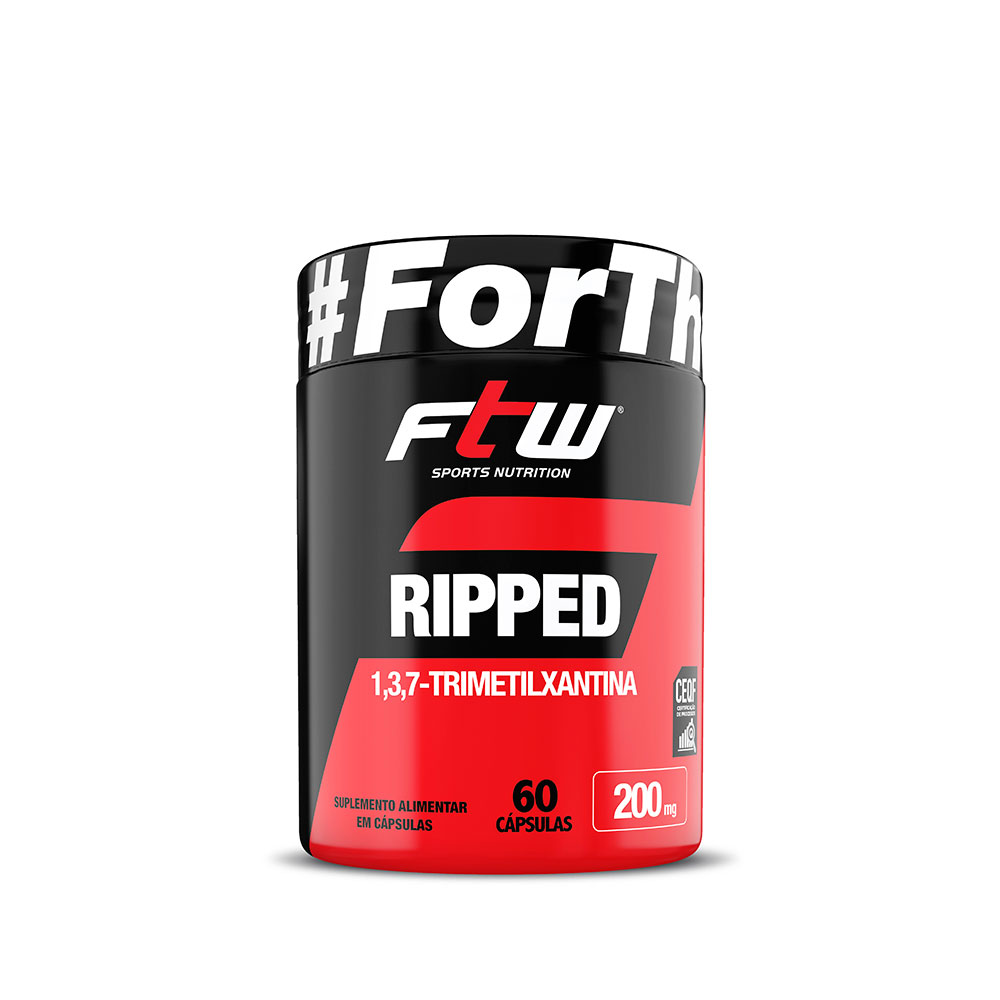 RIPPED FTW - 60 CÁPS