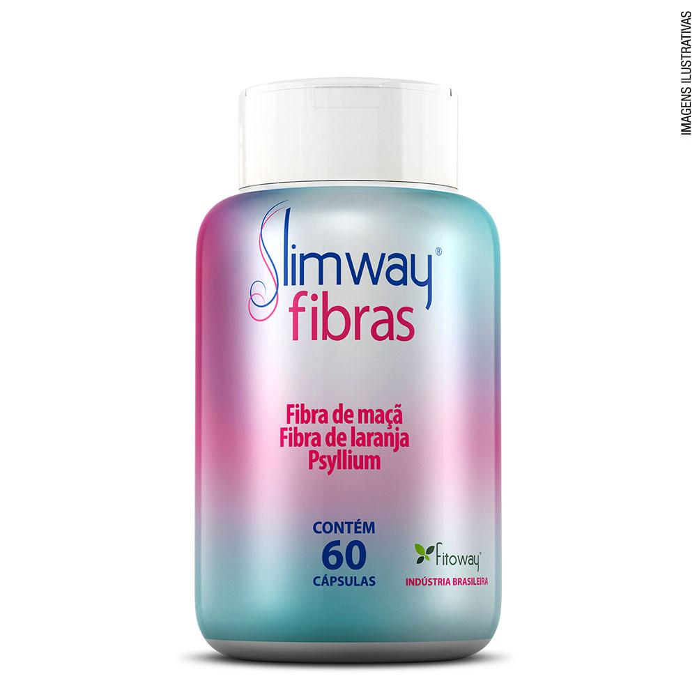 SLIMWAY FIBRAS - 60 CÁPS