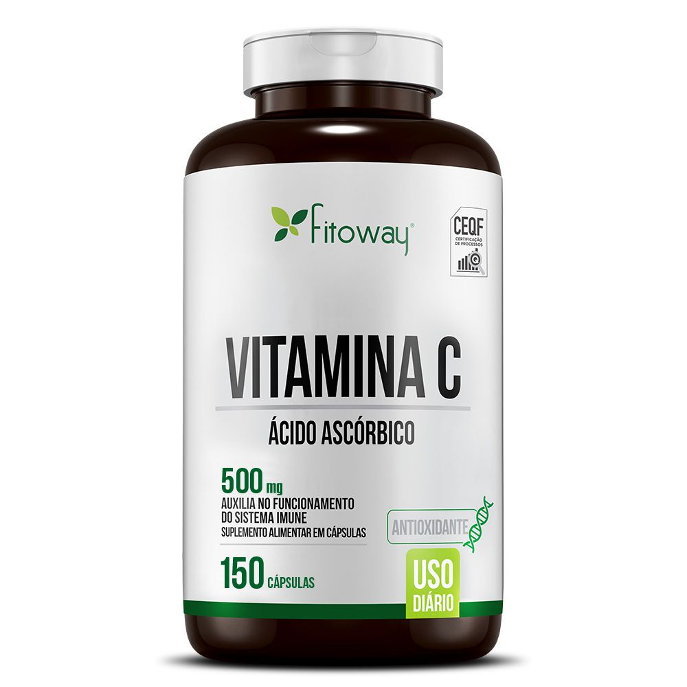 VITAMINA C FITOWAY CLEAN - 150 CÁPS