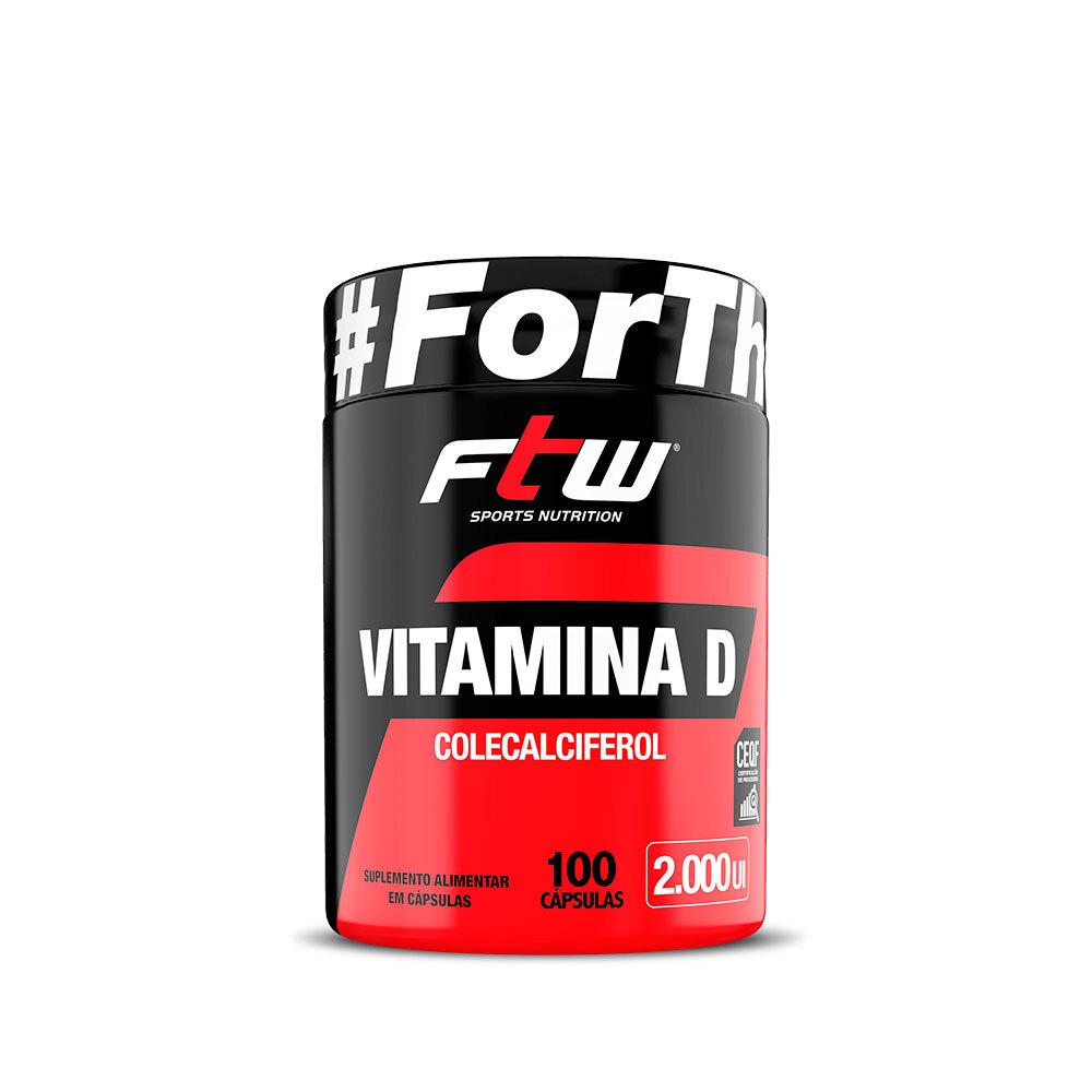 Vitamina D 2.000UI FTW - 100 Cáps