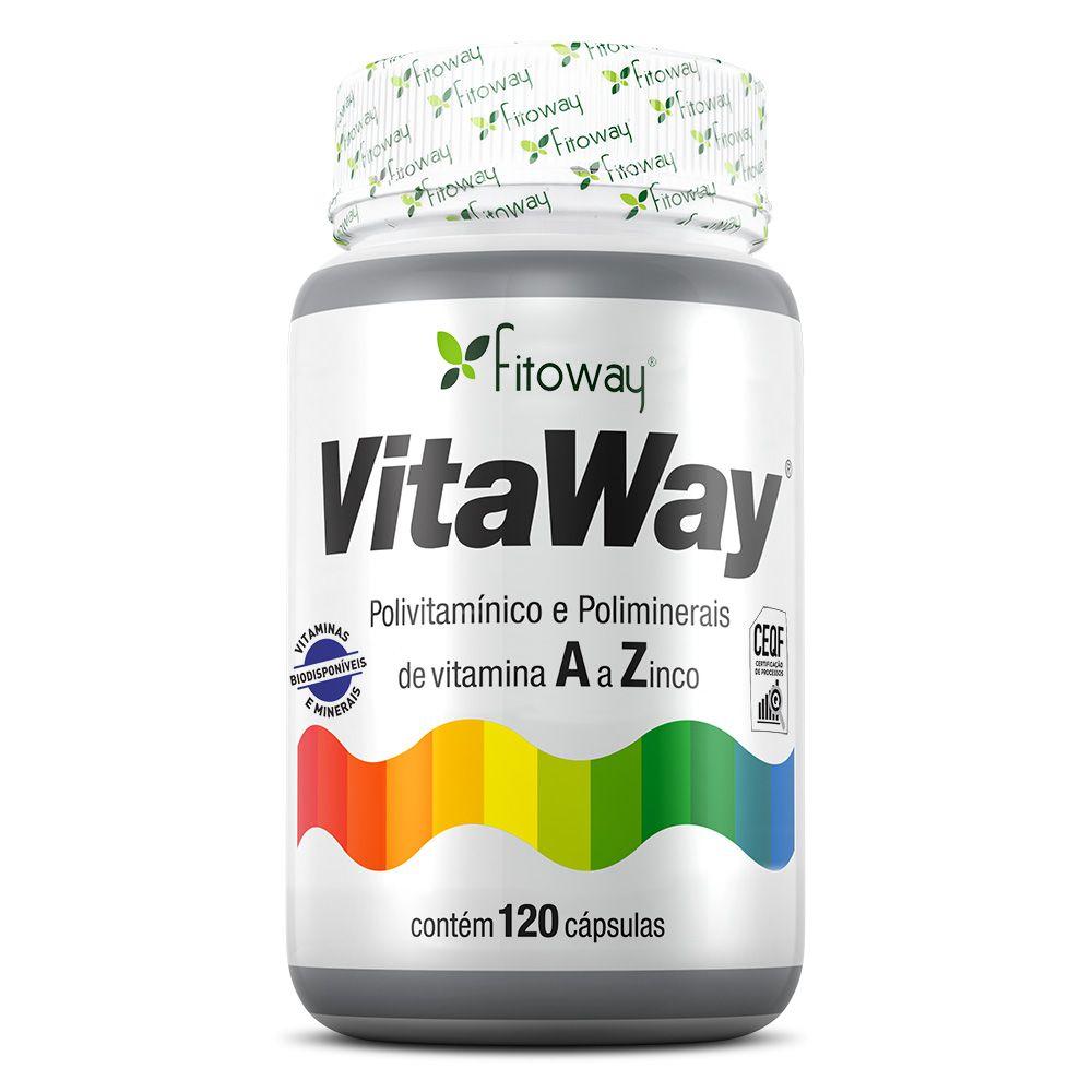 Vitaway Polivitamínico A a Z Fitoway – 120 cáps