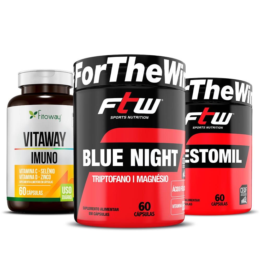 Vitaway Imuno 60 Cáps + Testomil 60 Cáps + Blue Night 60 Cáps - zz1