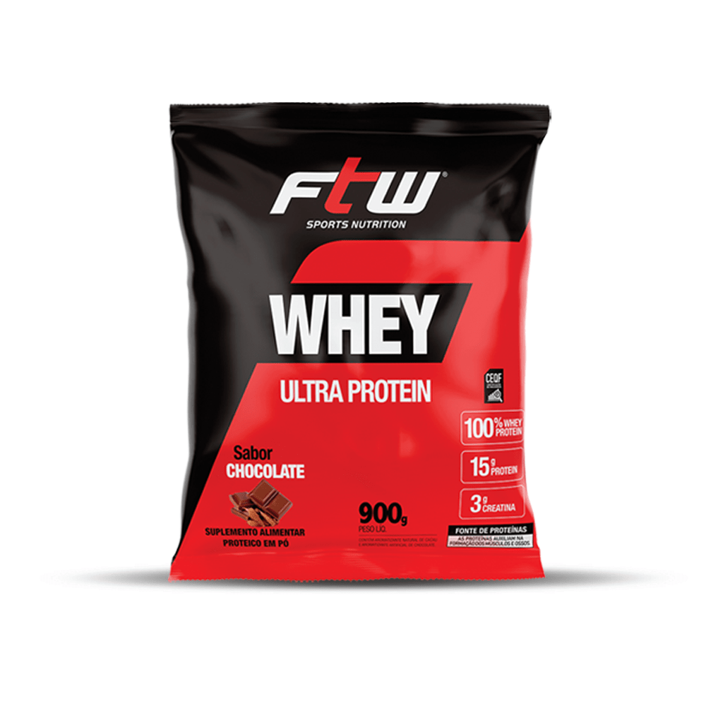 Whey Ultra Chocolate 900g - FTW