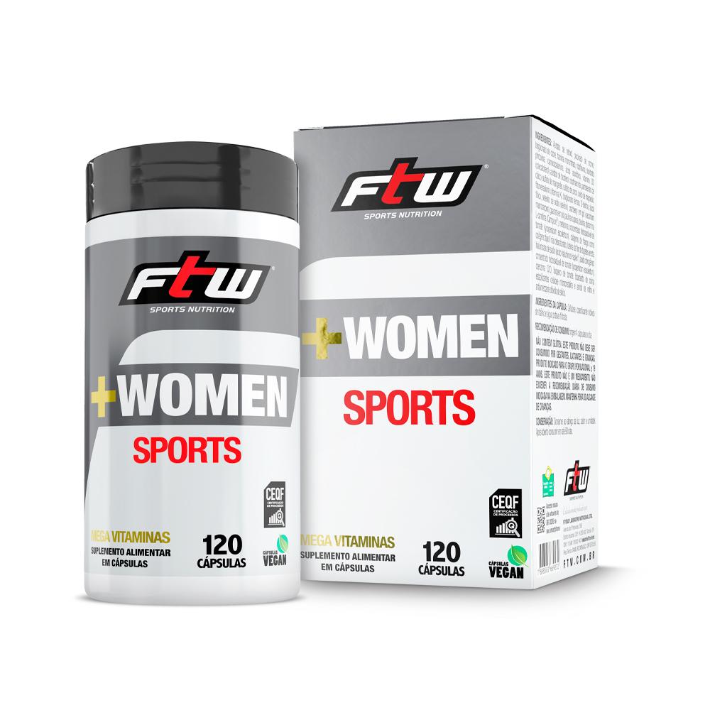 +WOMEN Sports 120 cáps - FTW