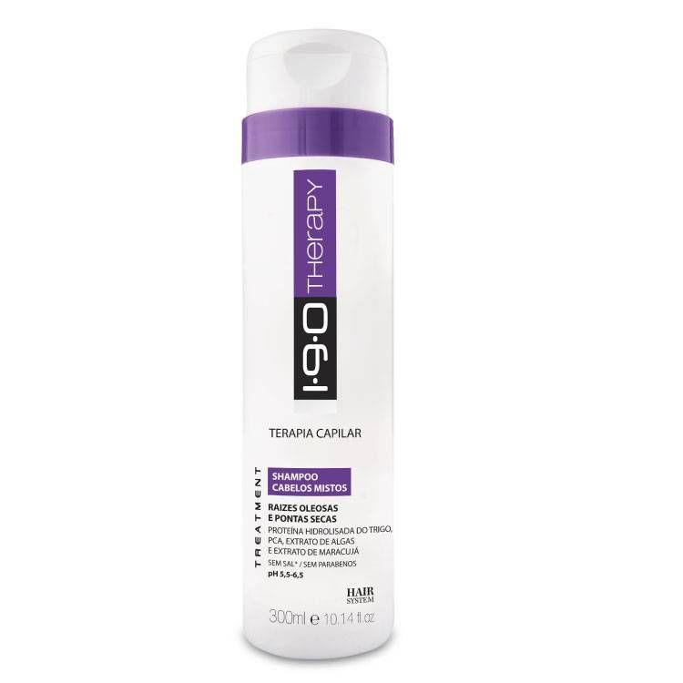 1.9.0. Shampoo Cabelos Mistos 300mL
