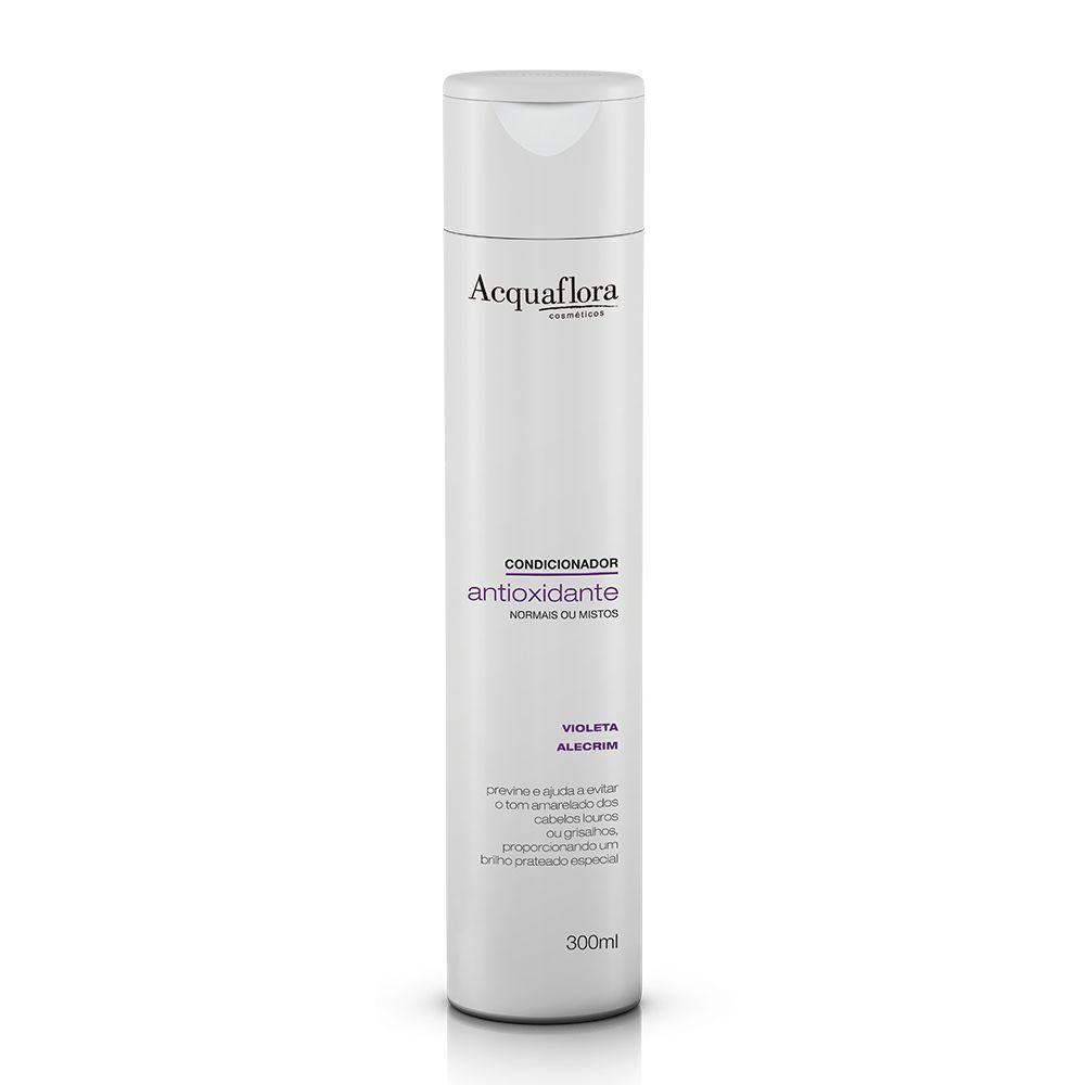 Acquaflora Condicionador Antioxidante Normais ou Mistos Violeta e Alecrim 300 mL