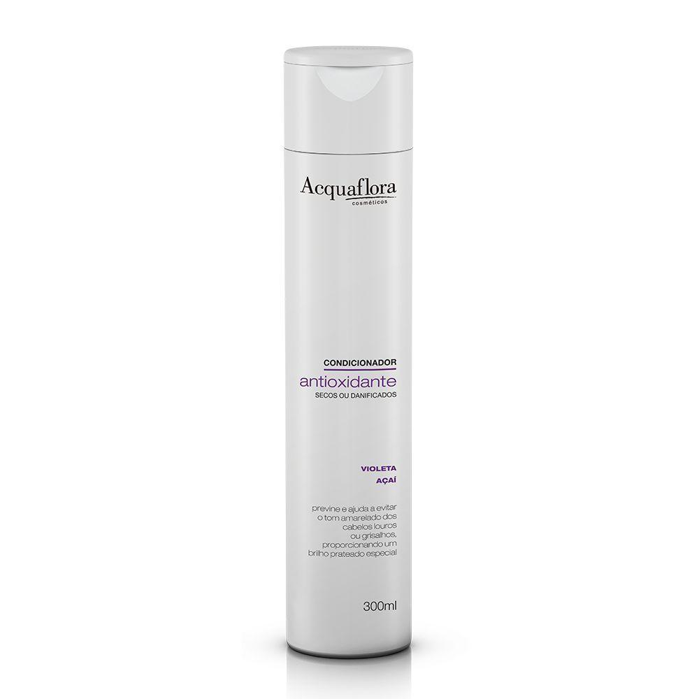 Acquaflora Condicionador Antioxidante Secos ou Danificados Violeta e Açaí 300 mL