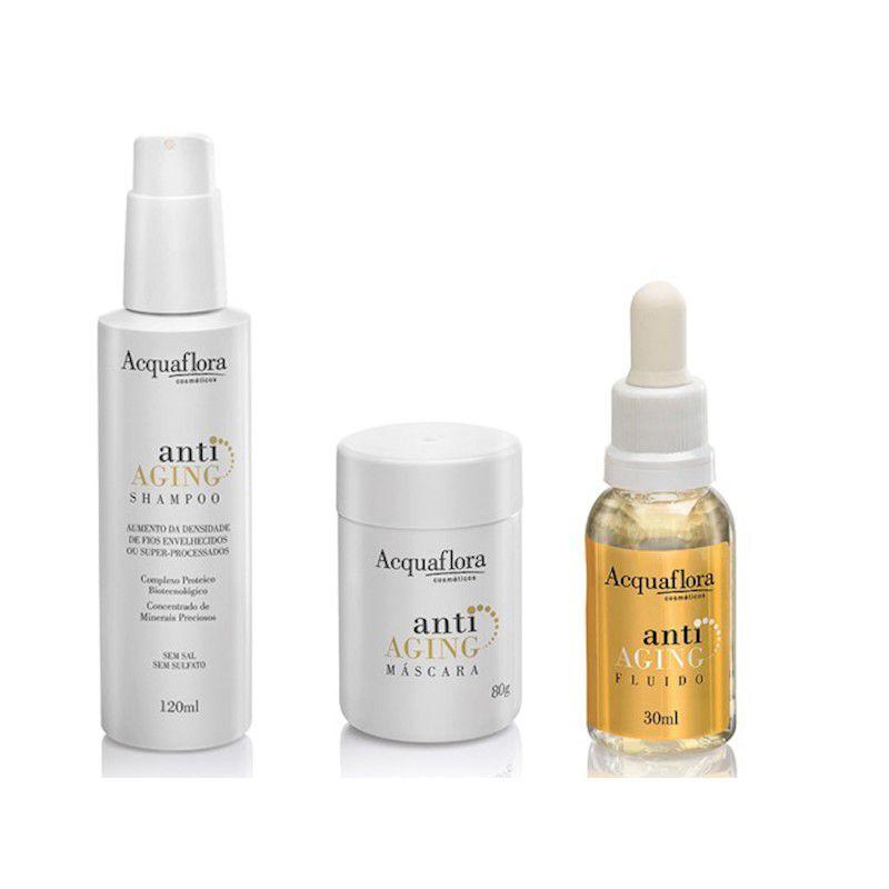 Acquaflora Kit de Tratamento Anti-Aging