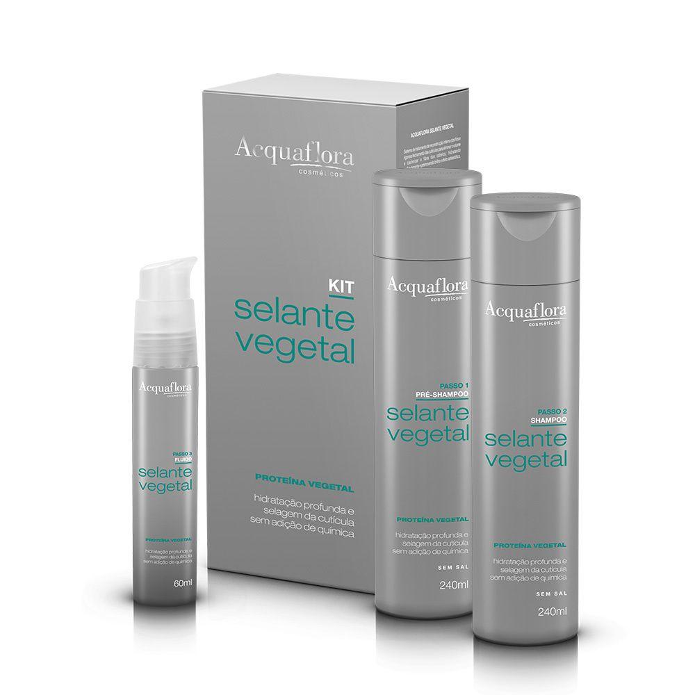 Acquaflora Kit de Tratamento Selante Vegetal