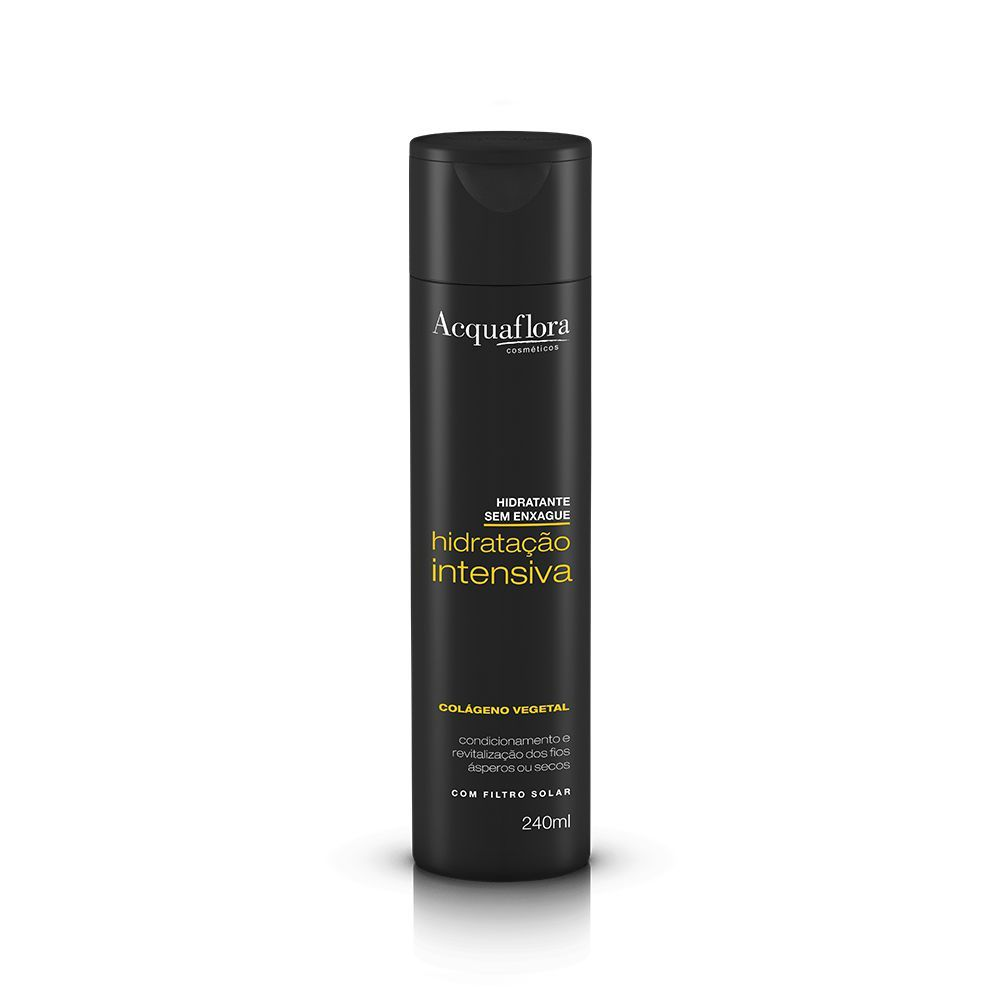 Acquaflora Leave-in Hidratação Intensiva Hidratante sem Enxágue - Colágeno Vegetal 240 mL