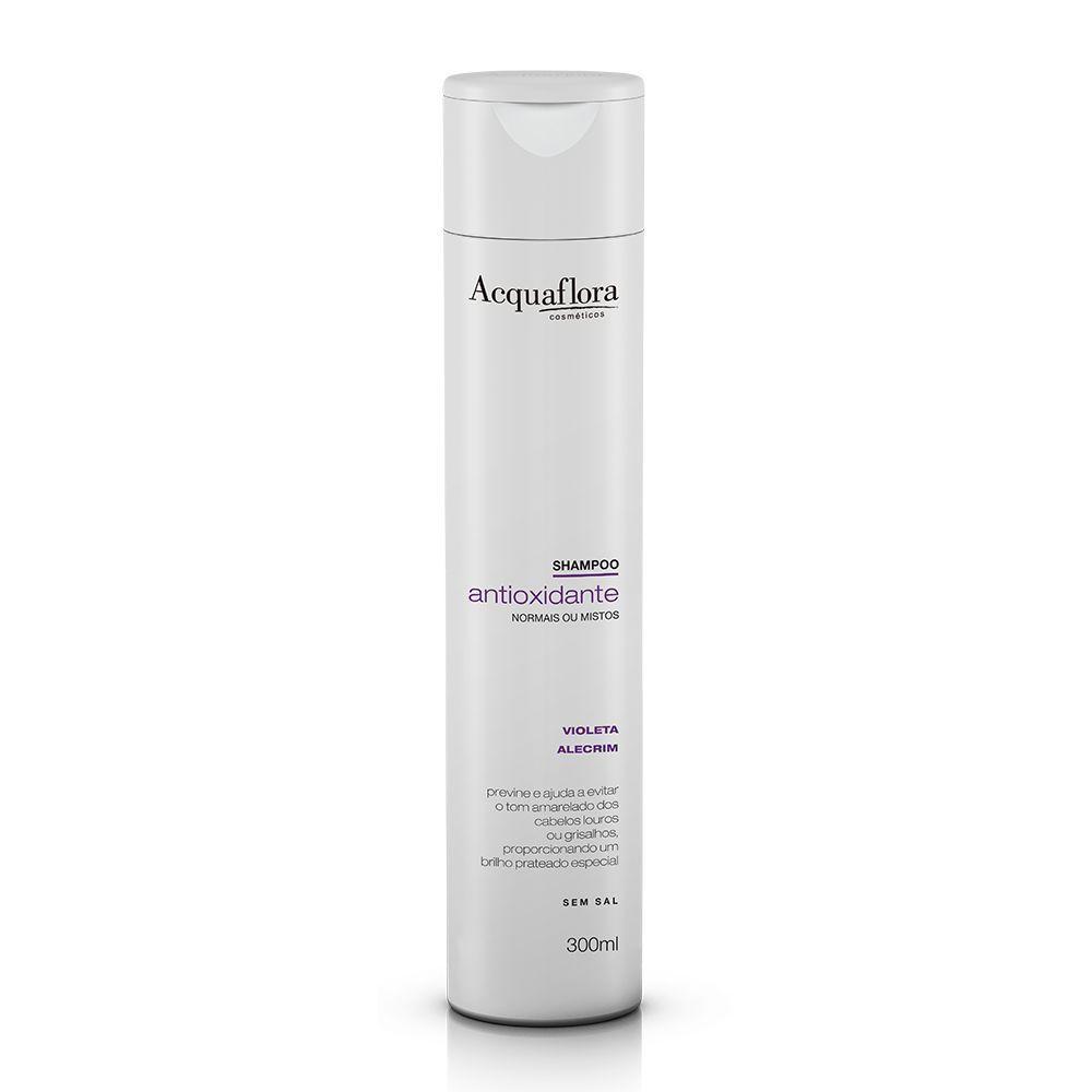 Acquaflora Shampoo Antioxidante - Normais ou Mistos - Violeta e Alecrim 300 mL