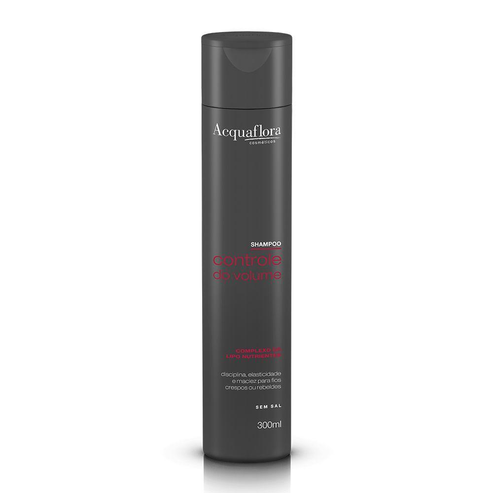 Acquaflora Shampoo Controle do Volume - Complexo de Liponutrientes 300 mL
