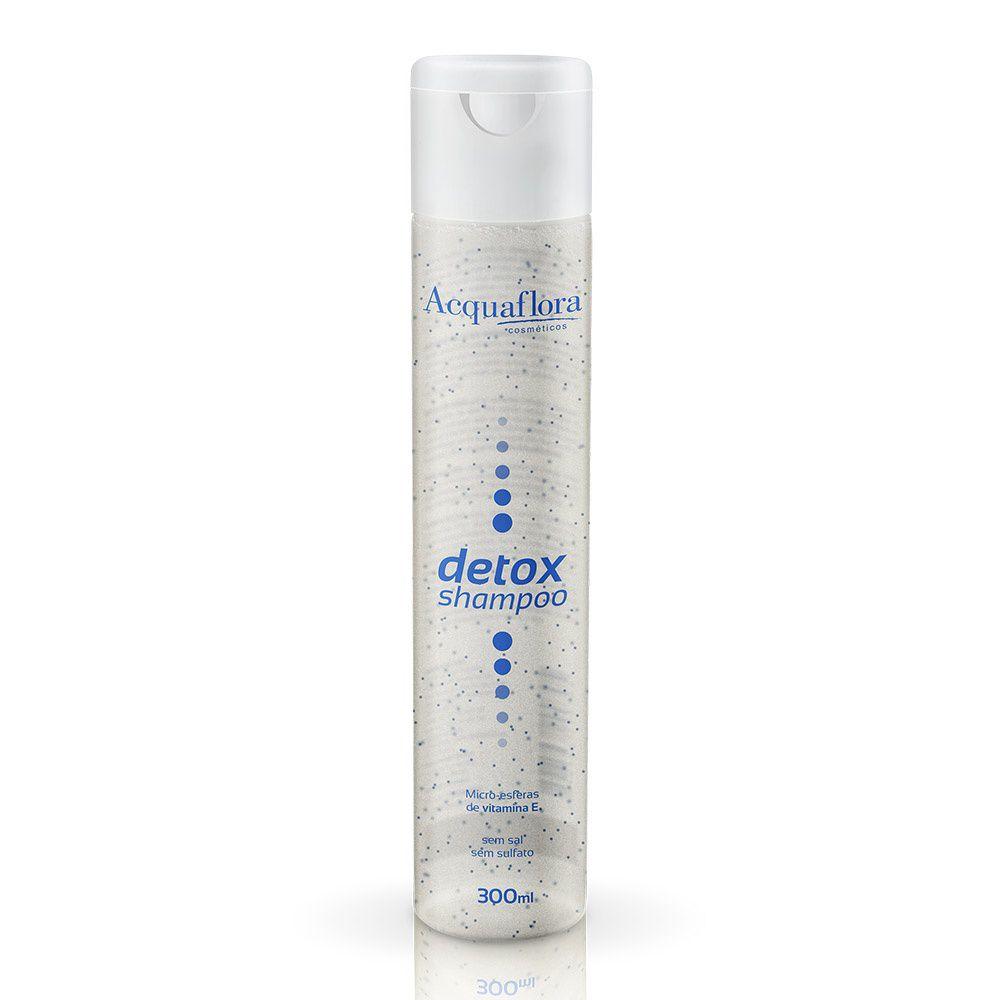 Acquaflora Shampoo Detox - Microesferas de Vitamina E 300mL