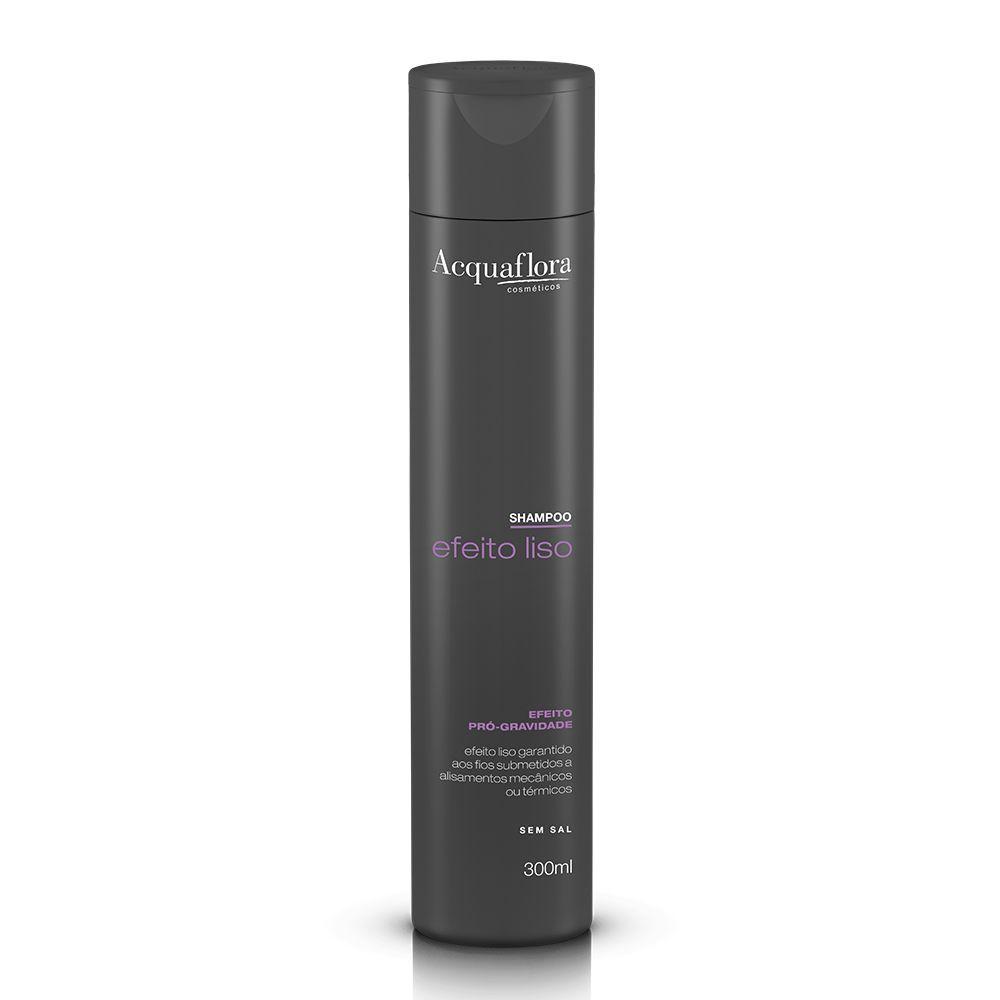 Acquaflora Shampoo Efeito Liso - Efeito Pró-gravidade 300mL