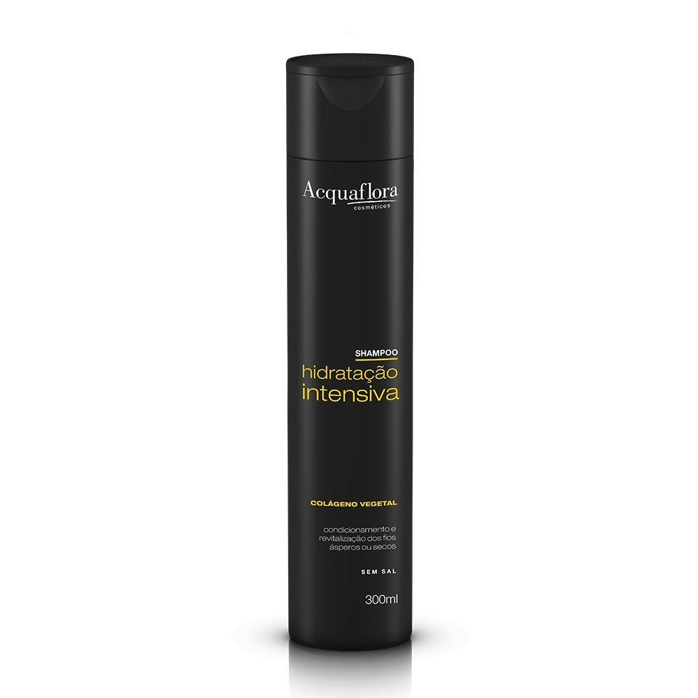 Acquaflora Shampoo Hidratação Intensiva - Colágeno Vegetal 300 mL