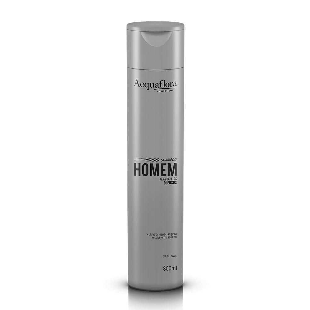 Acquaflora Shampoo Homem - Para Cabelos Oleosos 300 mL