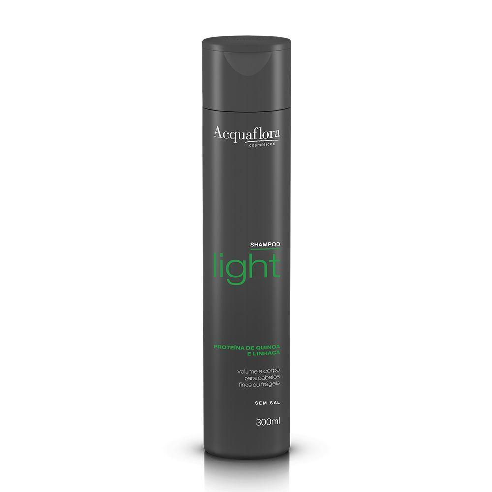 Acquaflora Shampoo Light - Proteína de Quinoa e Linhaça 300mL