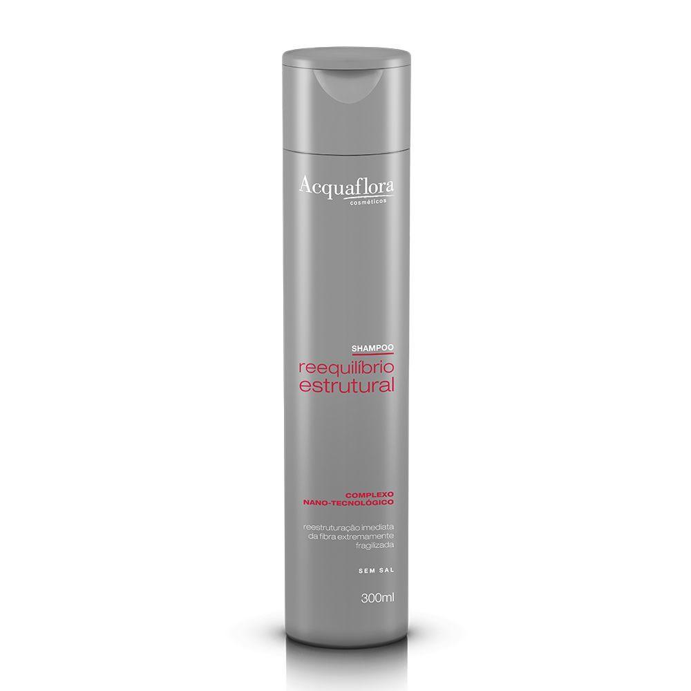 Acquaflora Shampoo Reequilíbrio Estrutural - Complexo Nano-tecnológico 300 mL