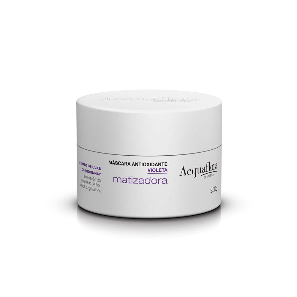 Acquaflroa Máscara Capilar Antioxidante Matizadora - Violeta 250 g
