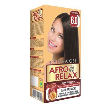 Afro & Relax Kit Tonalizante Gel Louro Escuro 6.0