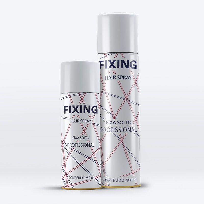 Agima Fixing Hair Spray Fixa Solto 400 mL