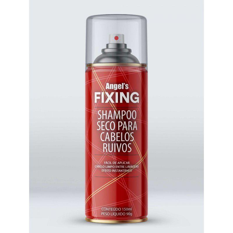 Agima Shampoo Seco Angel's Fixing para Cabelos Ruivos 150 mL
