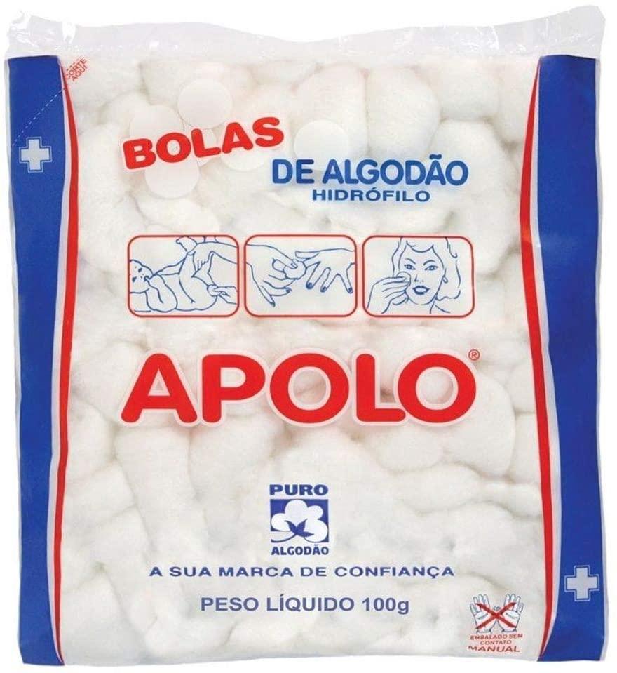 Algodão Apolo Bola Branco 100g