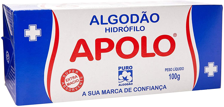 Algodão Apolo Caixa 100g