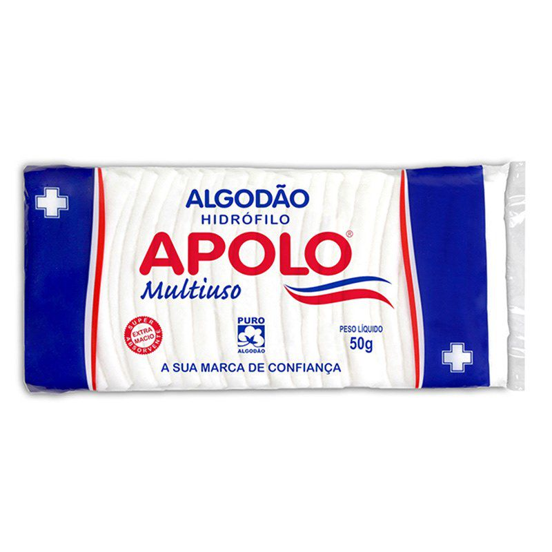 Algodão Apolo Multiuso 100g