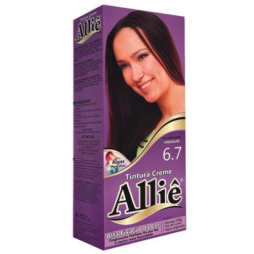 Alliê Kit Coloração 6.7 Chocolate 100g