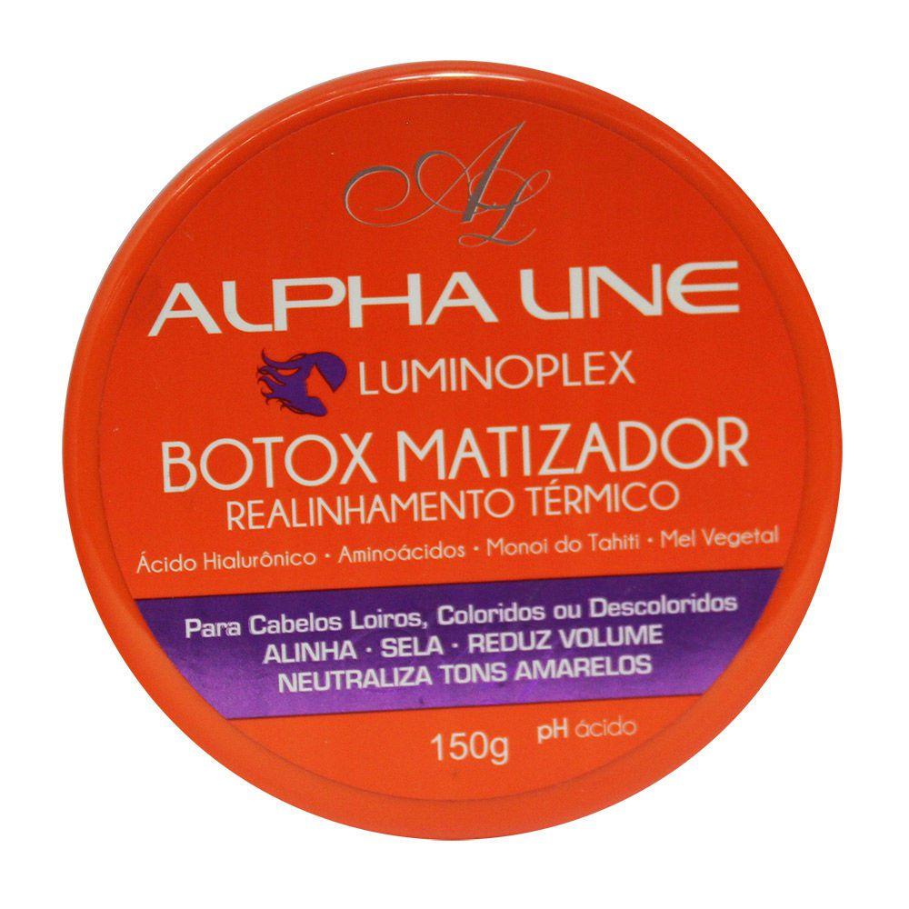 Alpha Line Botox Capilar Luminoplex Realinhamento Térmico 150g