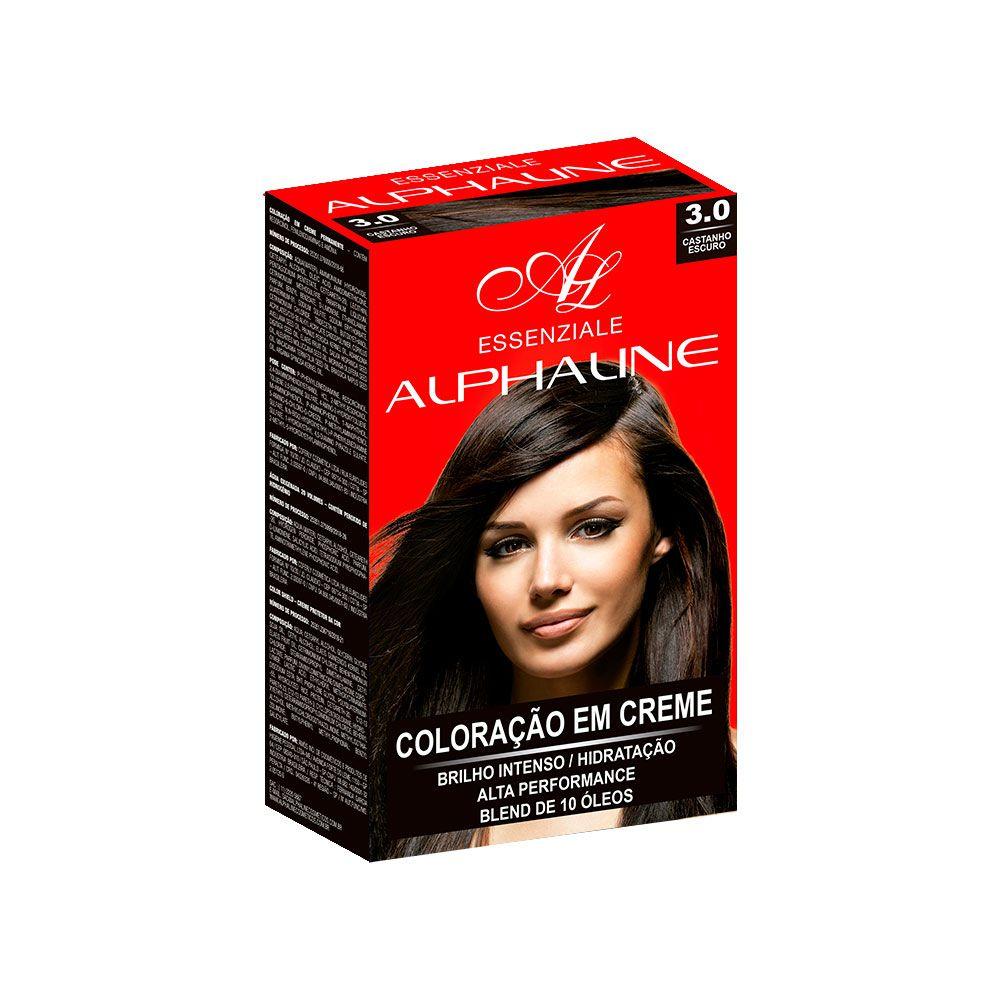 Alpha Line Coloração Essenziale 3.0 Castanho Escuro