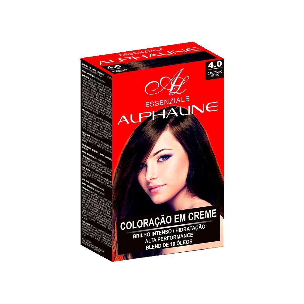Alpha Line Coloração Essenziale 4.0 Castanho Médio