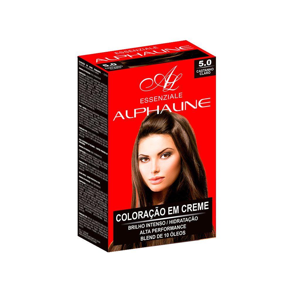 Alpha Line Coloração Essenziale 5.0 Castanho Claro