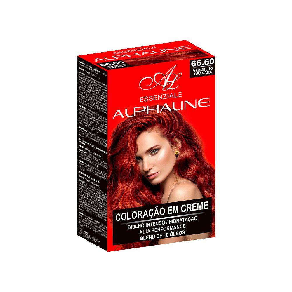 Alpha Line Coloração Essenziale 66.60 Vermelho Granada