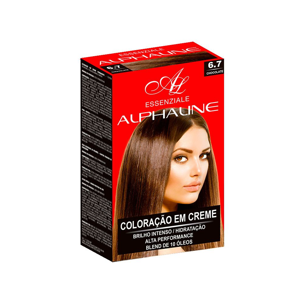 Alpha Line Coloração Essenziale 6.7 Chocolate