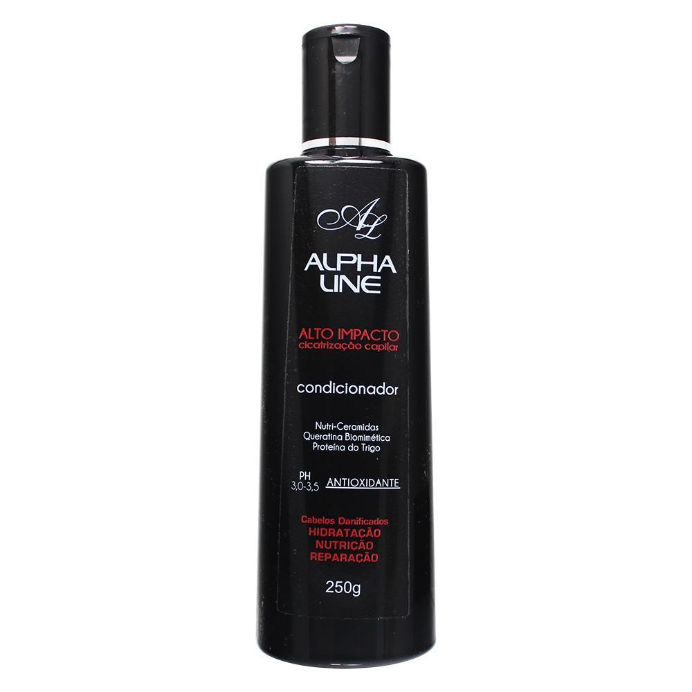 Alpha Line Condicionador Alto Impacto Cicatrização Capilar 250g