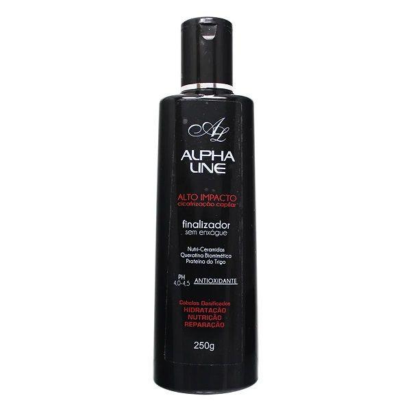 Alpha Line Finalizador Alto Impacto Cicatrização Capilar 250g