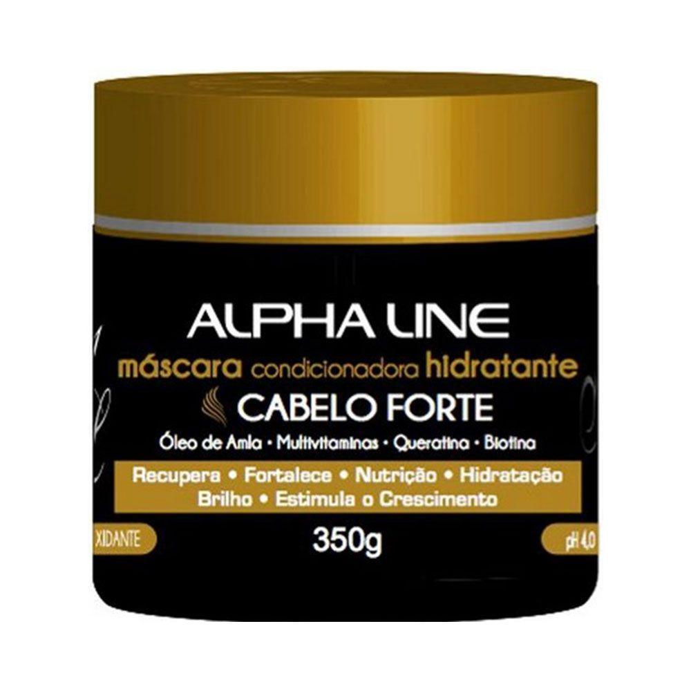 Alpha Line Máscara Cabelo Forte 350g