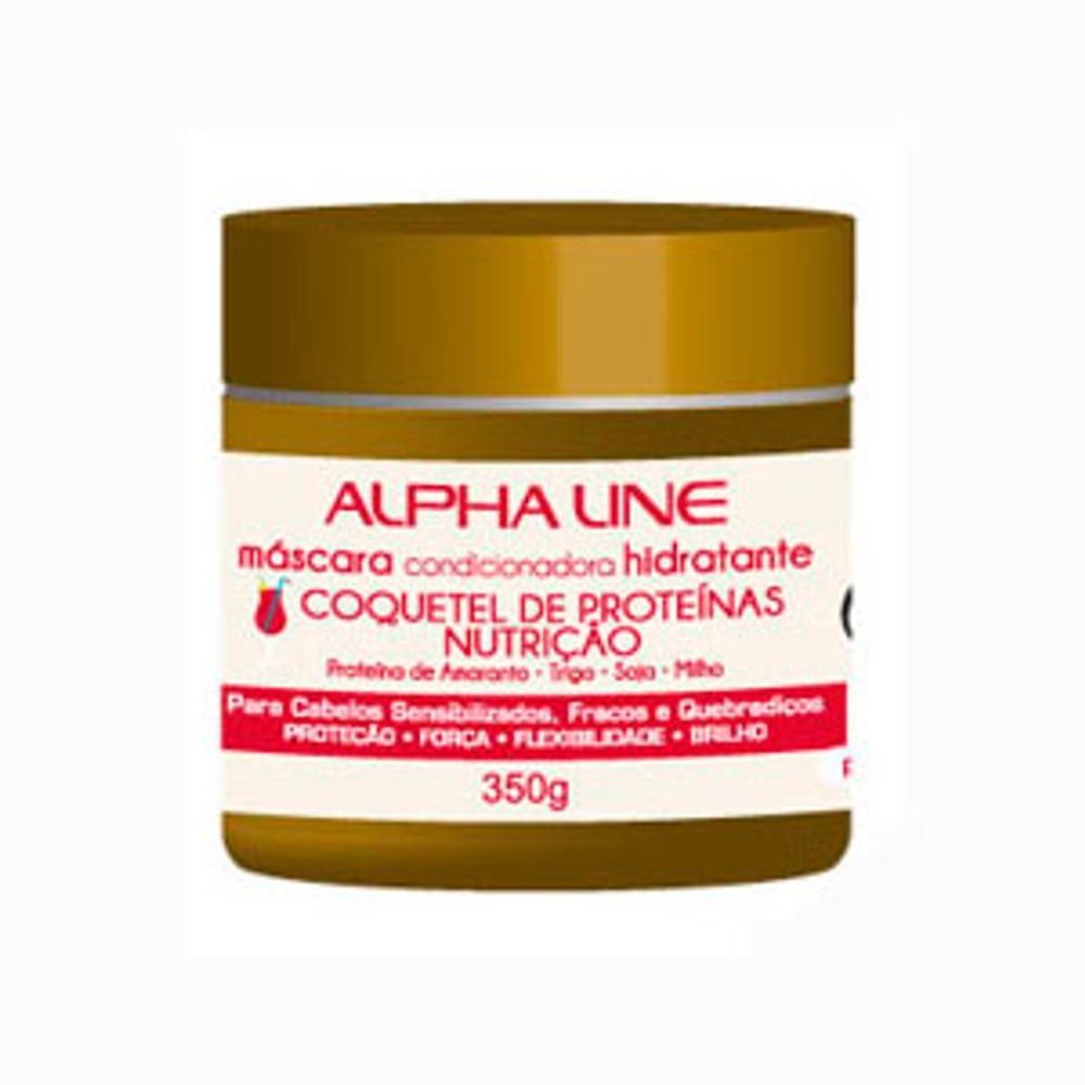 Alpha Line Máscara Coquetel de Proteínas 350g