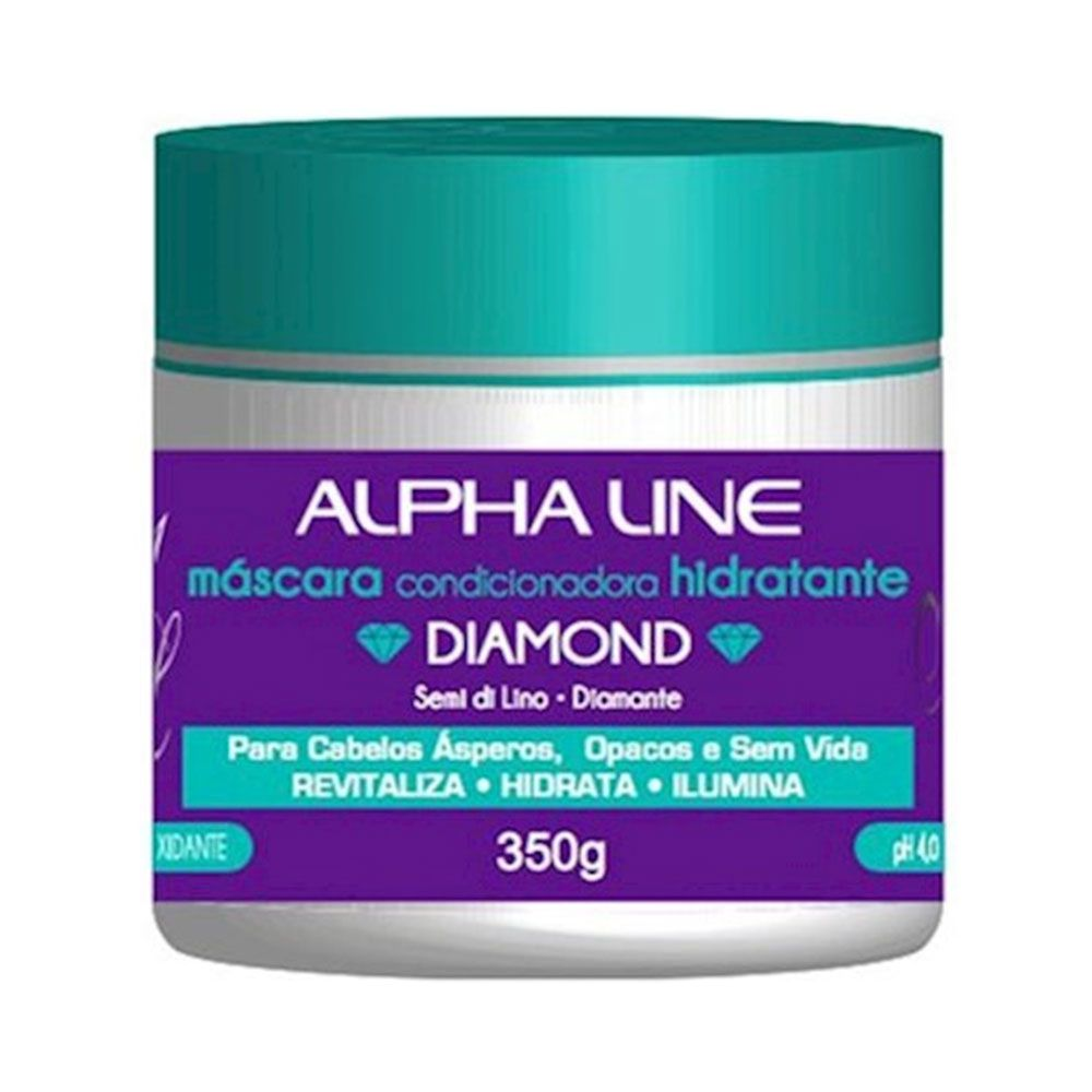 Alpha Line Máscara Diamond Semi di Lino 350g