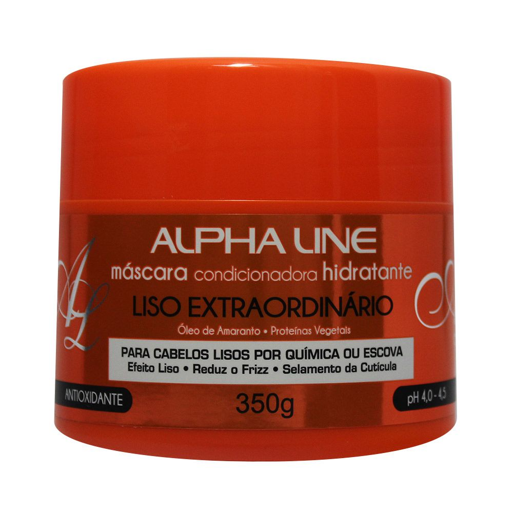 Alpha Line Máscara Liso Extraordinário 350g