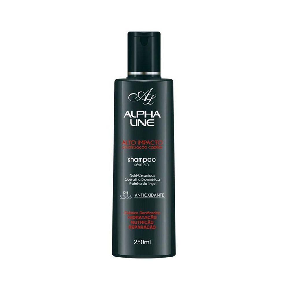Alpha Line Shampoo Alto Impacto 250mL