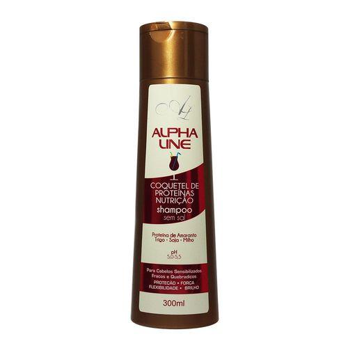 Alpha Line Shampoo Coquetel de Proteínas 300mL