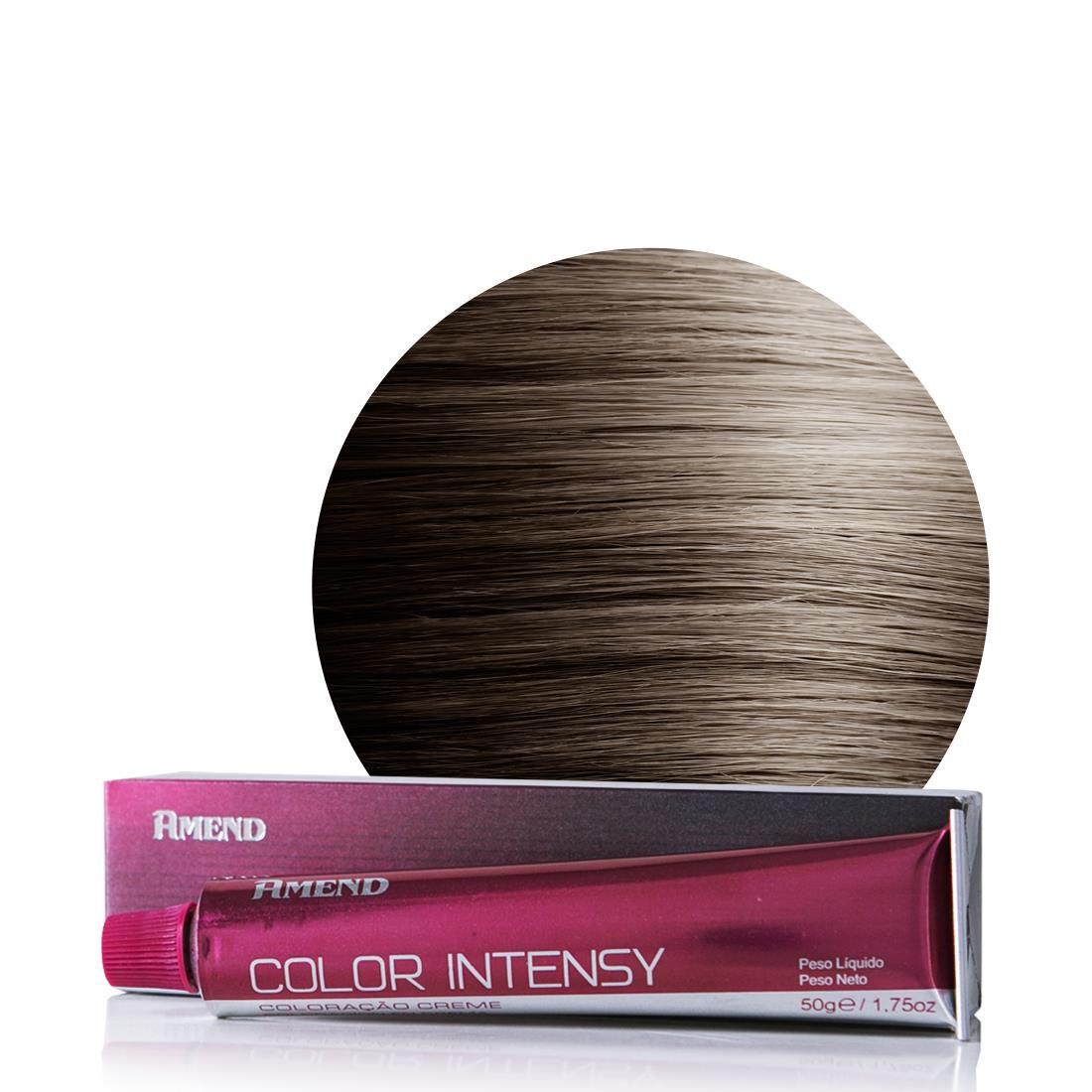 Amend Coloração Color Intensy 6.1 Louro Escuro Acinzentado 50g