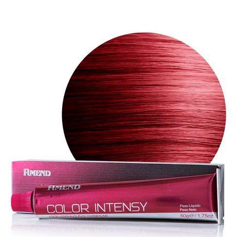 Amend Coloração Color Intensy 6.62 Louro Escuro Vermelho Irrisado 50g