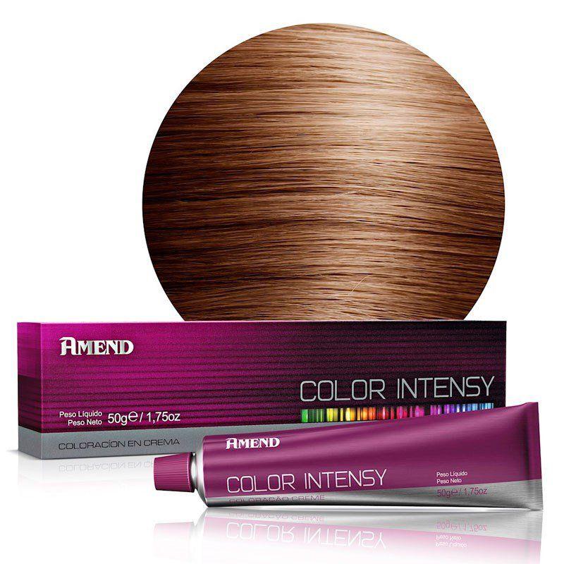 Amend Coloração Color Intensy 8.4 Louro Claro Acobreado 50g