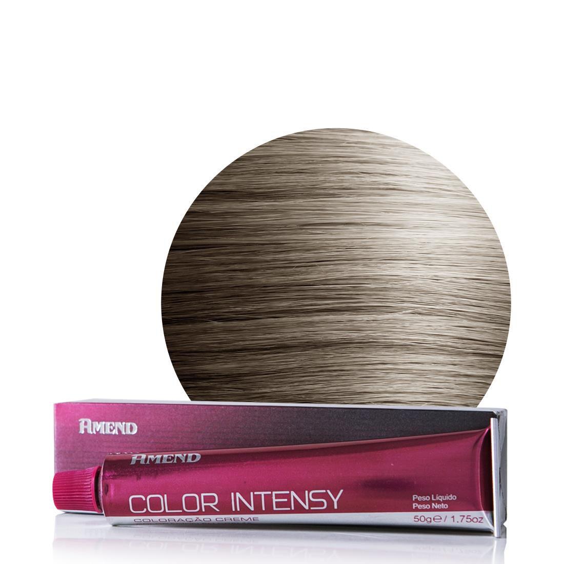 Amend Coloração Color Intensy 9.89 Louro Ultraclaro Pérola 50g