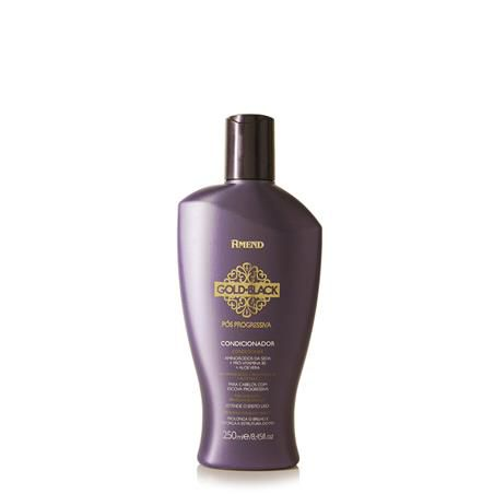 Amend Condicionador Gold Black Pós-progressiva 250mL