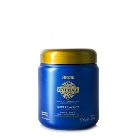 Amend Creme Relaxante Gold Black Nutritivo 500g